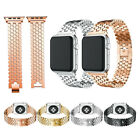 Stainless Steel iWatch Metal Strap Band For Apple Watch Series 5 4 3 2 1 38-44mm image