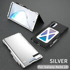 For Samsung Galaxy Note 10 Plus 5G R-JUST Shockproof Armor Metal Flip Case Cover