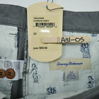 New Tommy Bahama Flat Front Stretch Chino Shorts Textured Gray Men's Sizes 32-34