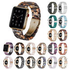 Resin Watch Band for Apple iWatch Series 5 Strap Stainless Steel Buckle Bracelet image