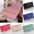 Cute Bow Women Wallet Long PU Leather Thin ID Credit Card Holder Purse Handbag image