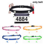 Accessories Running Waist Pack Cloth Bib Holder Sports Tool Race Number Belt image