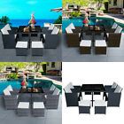 Rattan Cube Table Chairs Set 8 Seater Outdoor Garden Patio Furniture Storage Uk