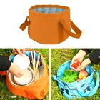 15L Folding Bucket Camping Wash Basin Collapsible Outdoor Portable Water Sink