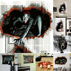 Halloween Bloody Horror 3d Wall Art Stickers Scary Mural Floor Party Home Decor