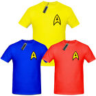 Star Trek Uniform T Shirt,Captain Kirk,Spock Scotty Enterprise Starfleet tshirt on eBay