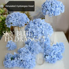 Внешний вид - Faux Artificial Silk Floral Flower Bouquet Hydrangea Party Decor Craft