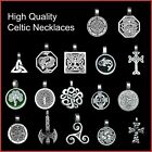 Celtic Druid Viking Wicca Pewter Pendant Necklace