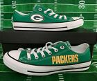 NEW! Green Bay Packers Custom Made Converse Chuck Taylor Sneakers NFL $95.0 USD on eBay