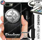 PITTSBURGH STEELERS NFL PHONE CASE FOR iPHONE XS MAX XR X 8 7 6 PLUS 5C 5S SE 5 $14.88 USD on eBay