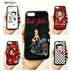 cartoon betty boop soft edge cell phone cases for apple iPhone x 5s SE 6 6s $9.55 USD on eBay