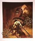 VTG Frank Frazetta Art Print Fantasy Mythical Warrior Hero Sci Fi Pulp Fiction