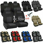 9PCS Auto Seat Covers for Car Truck SUV Van - Universal Protectors Polyester $20.99 USD on eBay