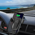 10W Qi Wireless Charger Fast Charging Car Barcket For i Phone 11 Pro Samsung S10