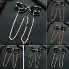 Lanyard Metal Eyeglass Chains Sunglasses Holder Necklace Gold Glasses Chain image