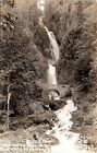 Wohkeena Falls Water Fall Columbia River Gorge OR Real Photo Postcard AG