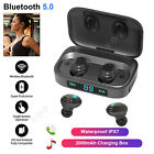 in ear bluetooth headset wireless earphone stereo sport running headphone w mic