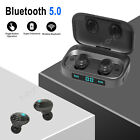 mini bluetooth earbuds wireless headset headphone with charging case mic us
