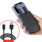 Universal Power Bank Battery Charger Case f Samsung Note 10/10+ 5G Type-C Phone