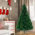 Hot 5.5'/6'/7'/8' Feet Artificial Christmas Pine Tree with Sturdy Mental legs US
