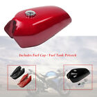1pc 9L/2.4 Gallon Universal Motorcycle Cafe Racer Gas Fuel Tank cap switch Retro