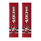 NEW Style Football San Francisco 49ers Seat Belt Pads Universal Size - 2 PC