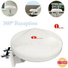 1byone TV Antenna Outdoor Omni-directional 360 Degree Reception HDTV Antenna Kit