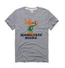 Milwaukee Bucks logo vtg retro Bango NBA basketball homage t-shirt men's on eBay