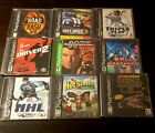 PlayStation One PS1 Psx Lot Of 9 Games used All COMPLETE