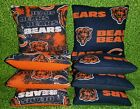 Chicago Bears Set of 8 Cornhole Bean Bags FREE SHIPPING $36.99 USD on eBay