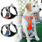 Reflective Dog Harness Strong No Pull Security Harness Mesh Vest for Large Dogs
