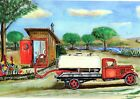 Septic Truck Personalized Art Print Outhouse Office wall decor sewer toilet bath