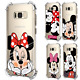 Cartoon Pattern Airbag Case For Samsung Galaxy A50 A70 M20 Note S10 Mickey Mouse