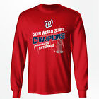 Washington Nationals 2019 World Series Champions Long Sleeve T-ShirtBaseball-MLB - 24410