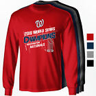 Washington Nationals 2019 World Series Champions Long or Short Sleeve T-Shirt