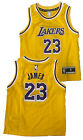 Boys Lebron James Los Angeles Lakers Replica Basketball Jersey on eBay