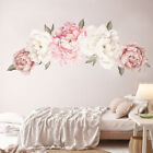 Living Room Waterproof Home Decor Art Decal Peony Flower Bedroom Wall Sticker