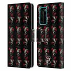 OFFICIAL ANNE STOKES SKULL 2 LEATHER BOOK WALLET CASE FOR HUAWEI PHONES