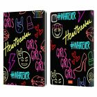 OFFICIAL emoji® NEON LEATHER BOOK CASE FOR APPLE iPAD