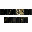 OFFICIAL NFL NEW ORLEANS SAINTS LOGO LEATHER BOOK CASE FOR APPLE iPAD $25.95 USD on eBay
