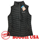 Columbia Women's NWT Powder Lite Vest Jacket Black LARGE MSRP $110