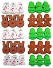 Внешний вид - Christmas Holiday Peeps 4 Pack Bundle With Trees, Gingerbread Men, Snowmen, and