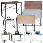Foldable Computer Desk Folding PC Table Study Laptop Collapsible Office Home New