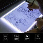 A5 LED drawing tablet art stencil drawing board light box tracing table pad JF