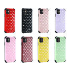For Apple iPhone 11 Pro XS Max 6 Hybrid Impact Diamond Rubber  Guard Case Cover