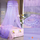 High Density Mesh Princess Lace Netting Mosquito Net Dome Bed Canopy Childrens image