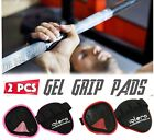 EVO Weight Lifting Palm Grips Hand Support Wraps Rubber Gel Gym Straps Fitness