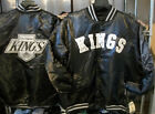 New Black Los Angeles LA Kings Men's Satin Jacket G-III Throwback Starter Jacket $34.99 USD on eBay