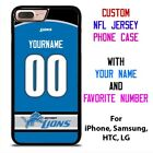 DETROIT LIONS JERSEY NFL Custom Phone Case Cover for iPhone Samsung Galaxy $15.9 USD on eBay