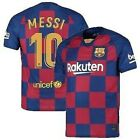 Barcelona Messi #10 Home New Season Soccer Jersey AdultMen Sizes